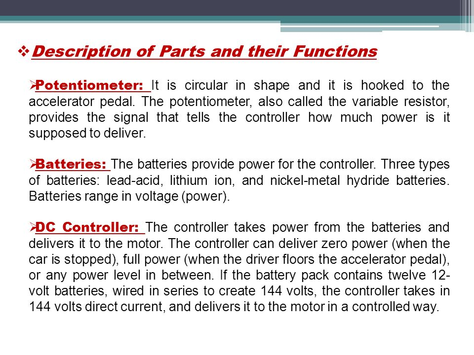 ELECTRICAL VEHICLES Presented by: Tailor Jigar R. Guided by: Mrs ...
