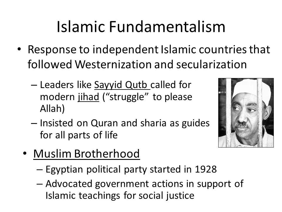 fundamentalism secularization essay Fundamentalism Essay