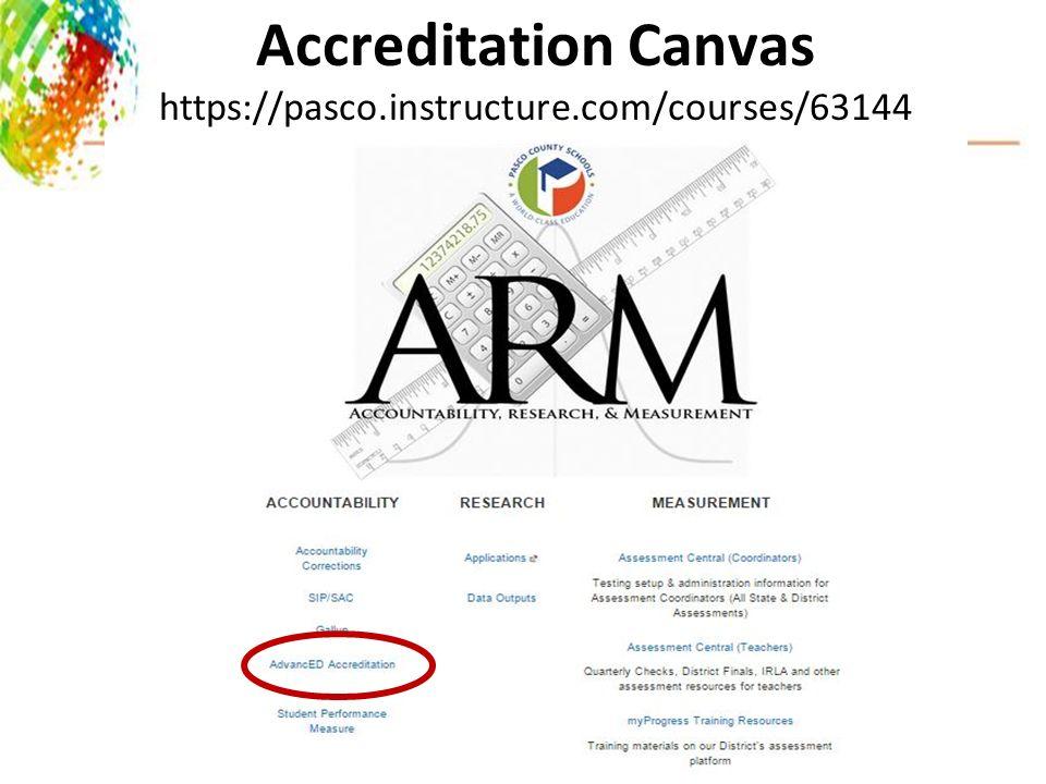 AdvancED Systems Accreditation Principals' Meeting October 14-15 ...