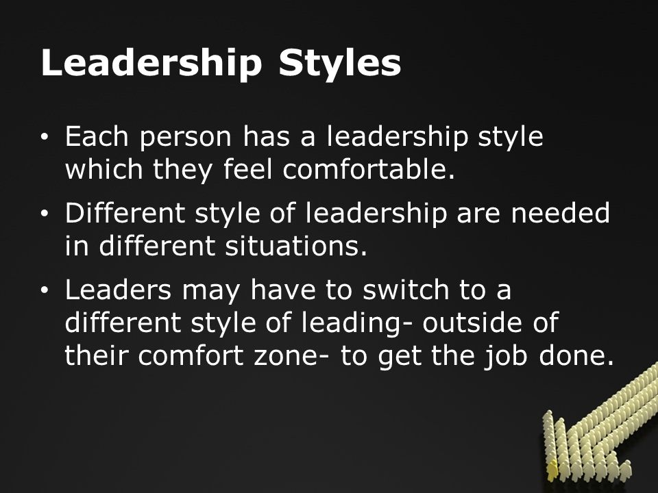 What Leadership is NOT… Leadership is not a position.