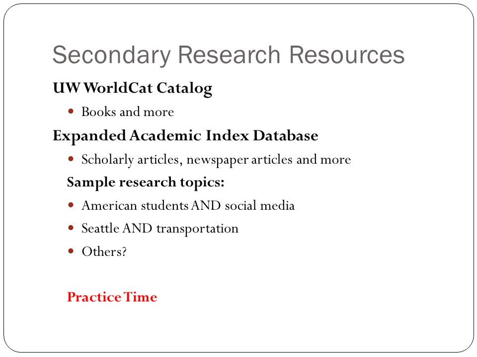 what is a scholarly research paper This page lists some of the stages involved in writing a library-based research paper although this list suggests that there is a simple, linear process to writing such a paper, the actual process of writing a research paper is often a messy and recursive one, so please use this outline as a.