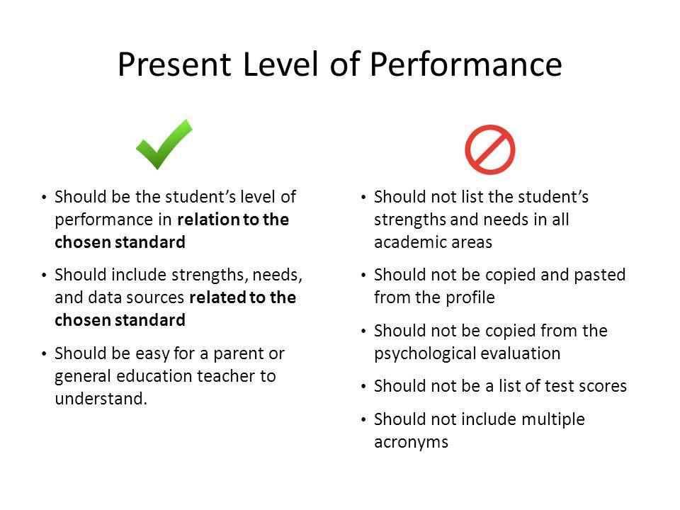 academic strengths list