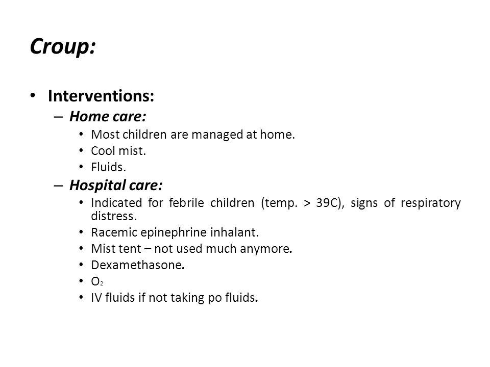 36 Interventions ...  sc 1 st  SlidePlayer & Pediatric Nursing Unit Six Child with Respiratory Disorders. - ppt ...