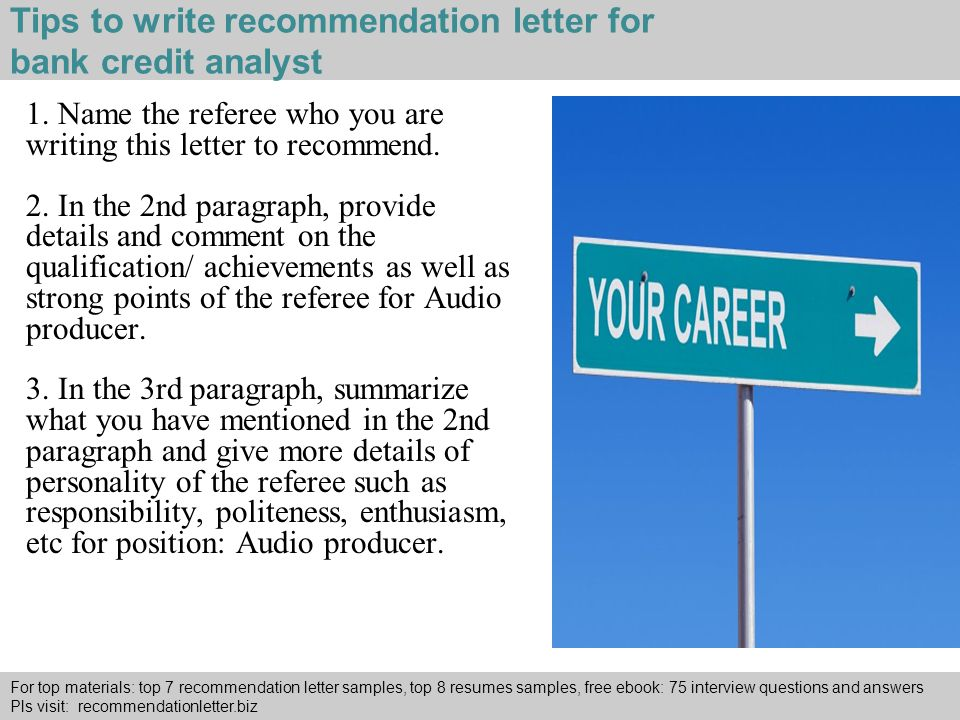Buy A Recommendation Letter