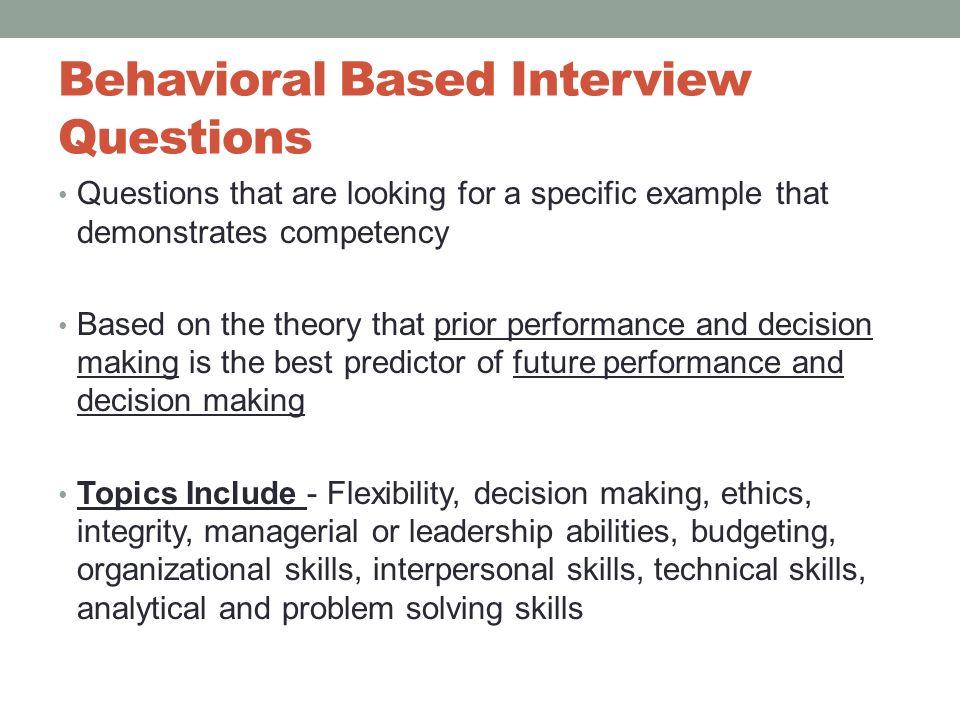 17 Behavioral ...