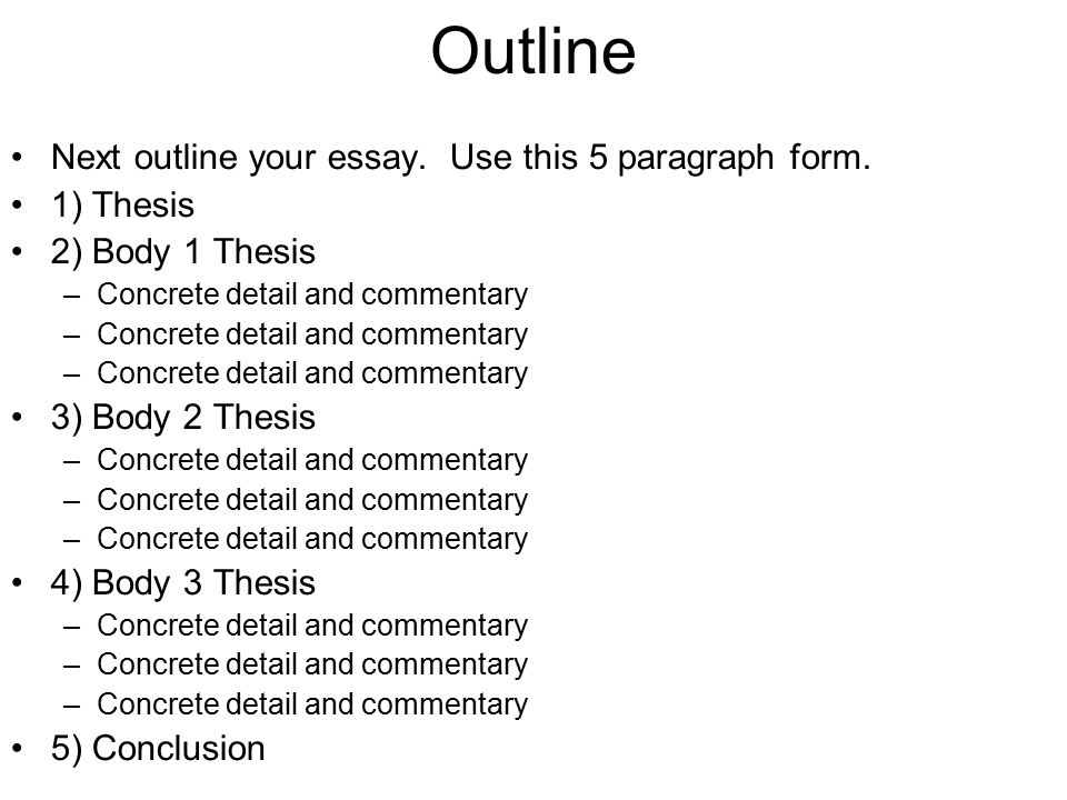 essay questions % of score minute reading period hours to outline next outline your essay use this 5 paragraph form