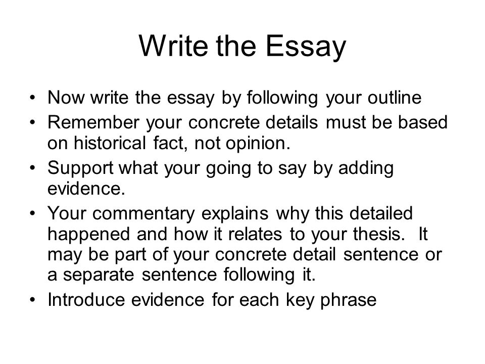 write and paint essay