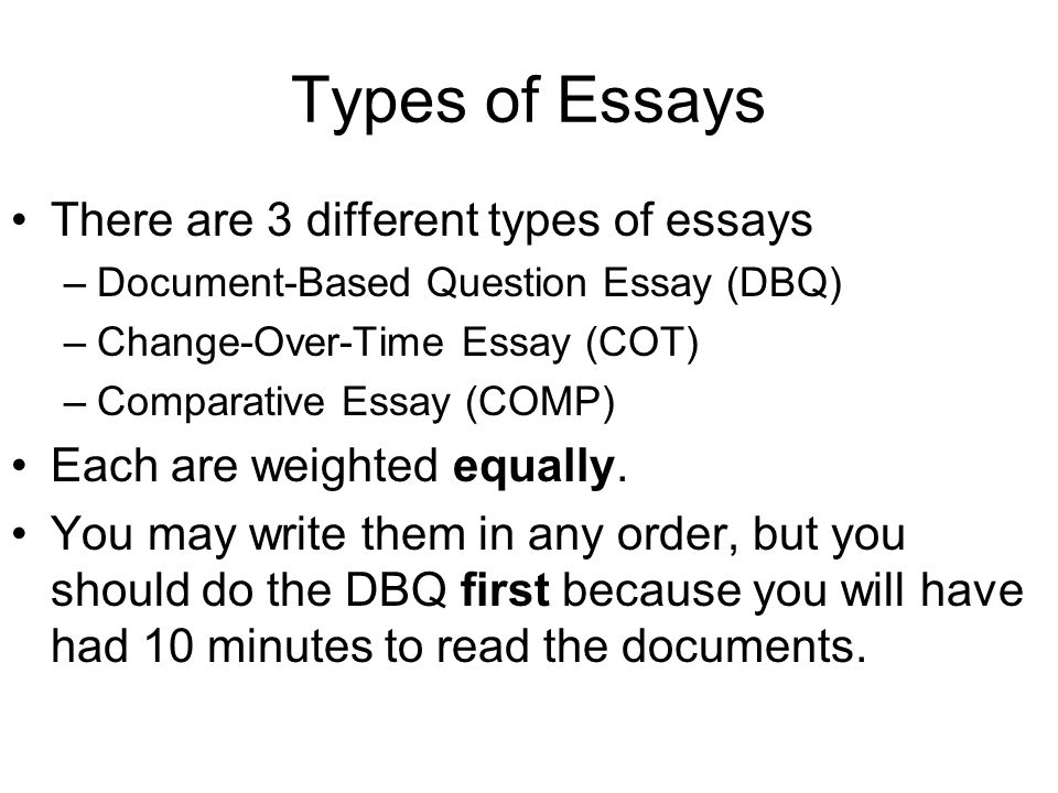 essay questions ap world history general information nd part of  types of essays there are 3 different types of essays document based question essay
