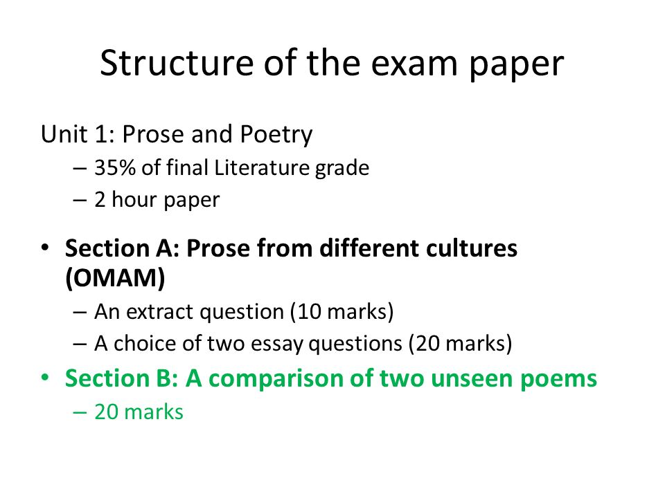 High School Essays  Structure  Narrative Essay Topics For High School also Example Essay Thesis Wjec Gcse English Literature How To Create An A Poetry Response  Science Technology Essay