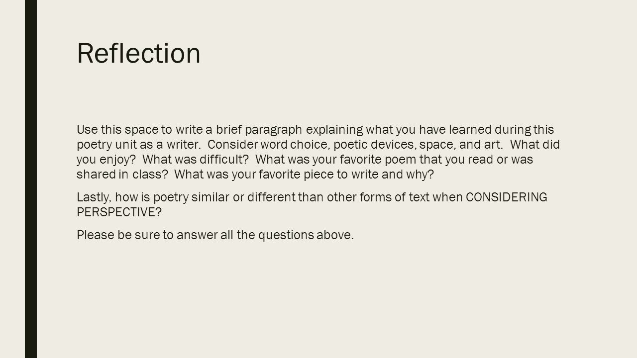Consideration word