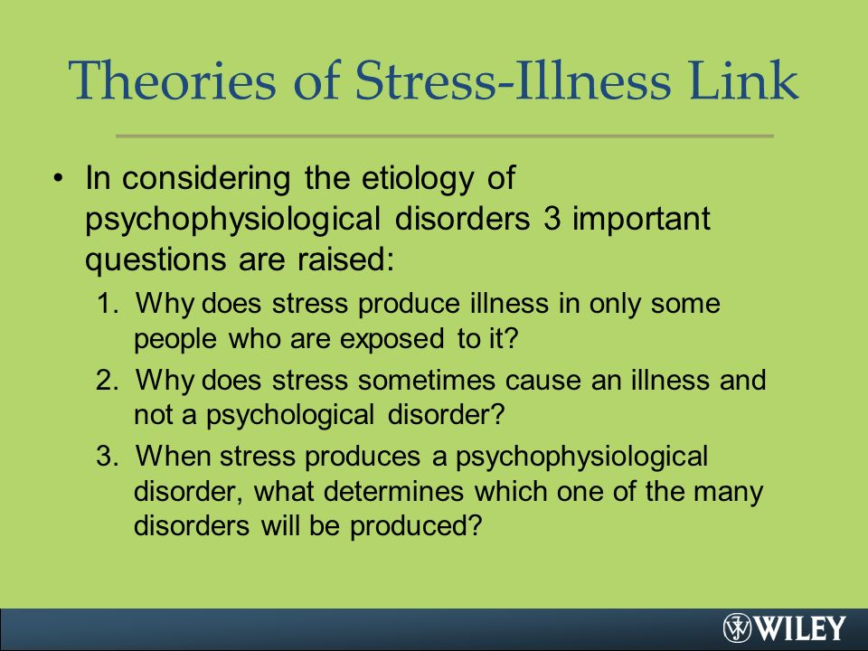psycho physiological disorder