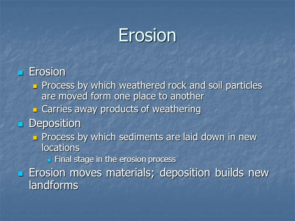 weathering erosion and soil formation essay