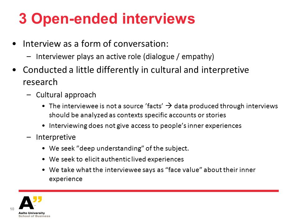 interview conversation dialogue