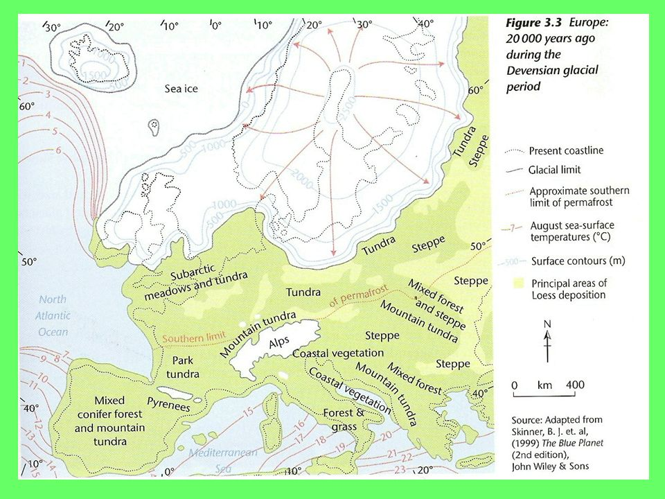 AS Geography Cold Environments True Or False Years Ago - Greenland latitude