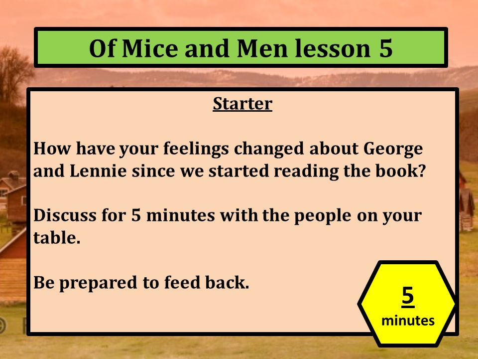 gcse of mice and men essay