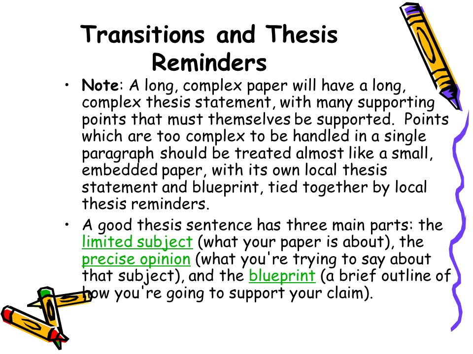 how to write a thesis paragraph Writing a thesis statement is the best way to organize your thoughts and narrow down focus if you know exactly what you aim to prove, you will have an easy time making valid points, defending your logic, etc.