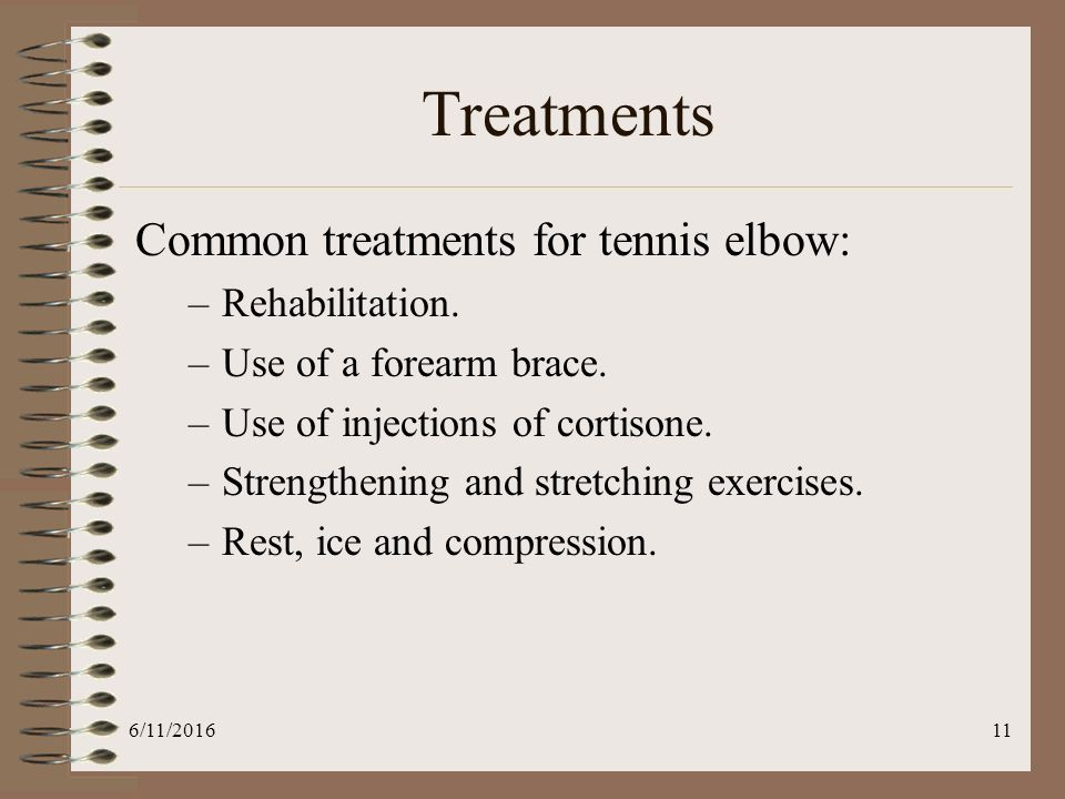Tennis Elbow Rehabilitation Ppt