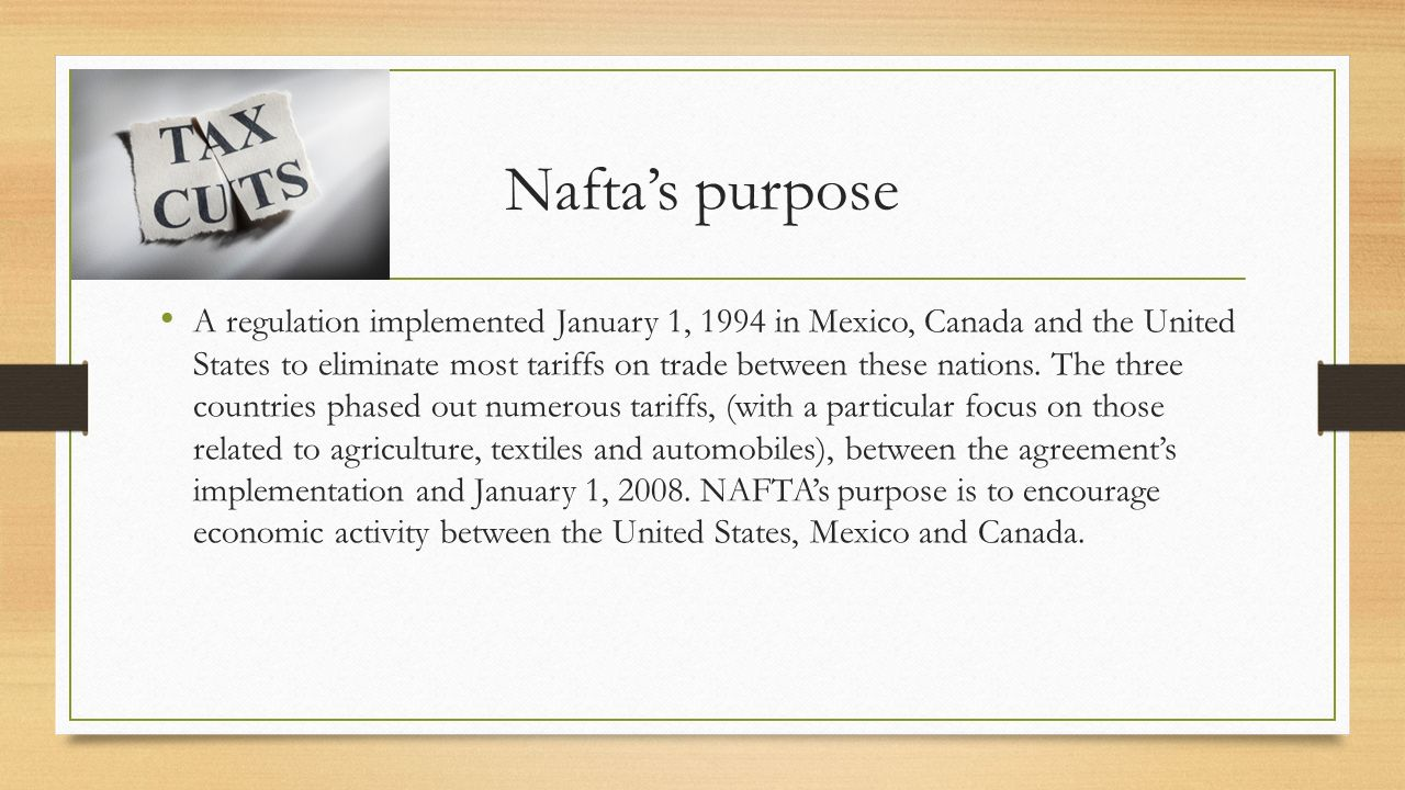 the bad effects of the north american free trade agreement North american free trade agreement (nafta) established a free-trade zone in north america is a comprehensive agreement that came into effect on january 1.