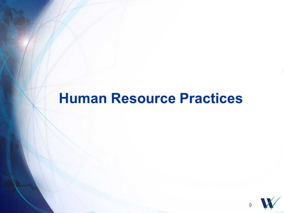 9 Human Resource Practices