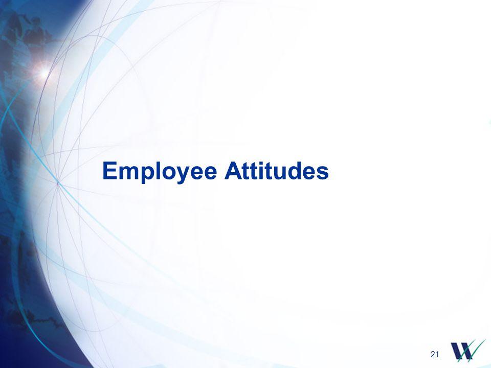 21 Employee Attitudes