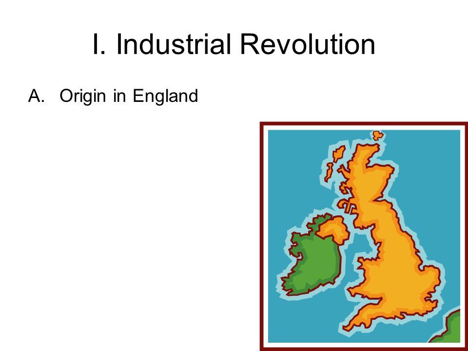 A.Origin in England