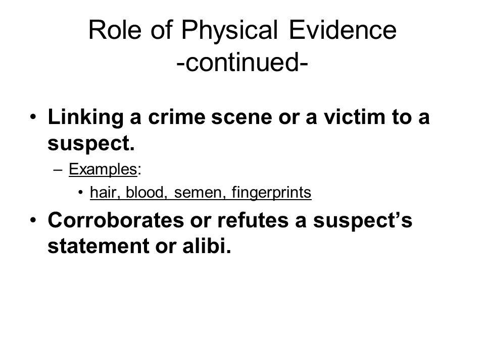 alibi statement example