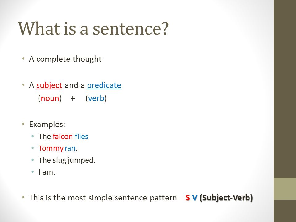 How to put a sentence in your own words