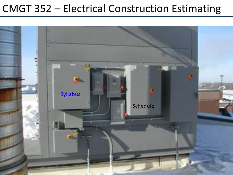 Unusual Estimating Electrical Construction Images - Electrical ...