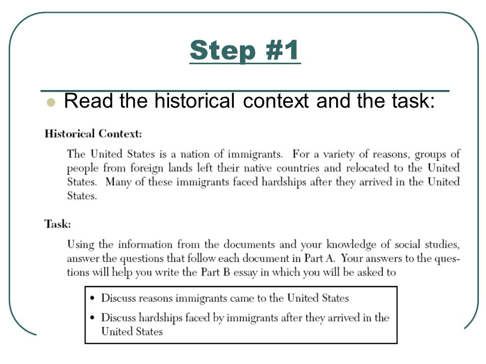 dbq immigration essay