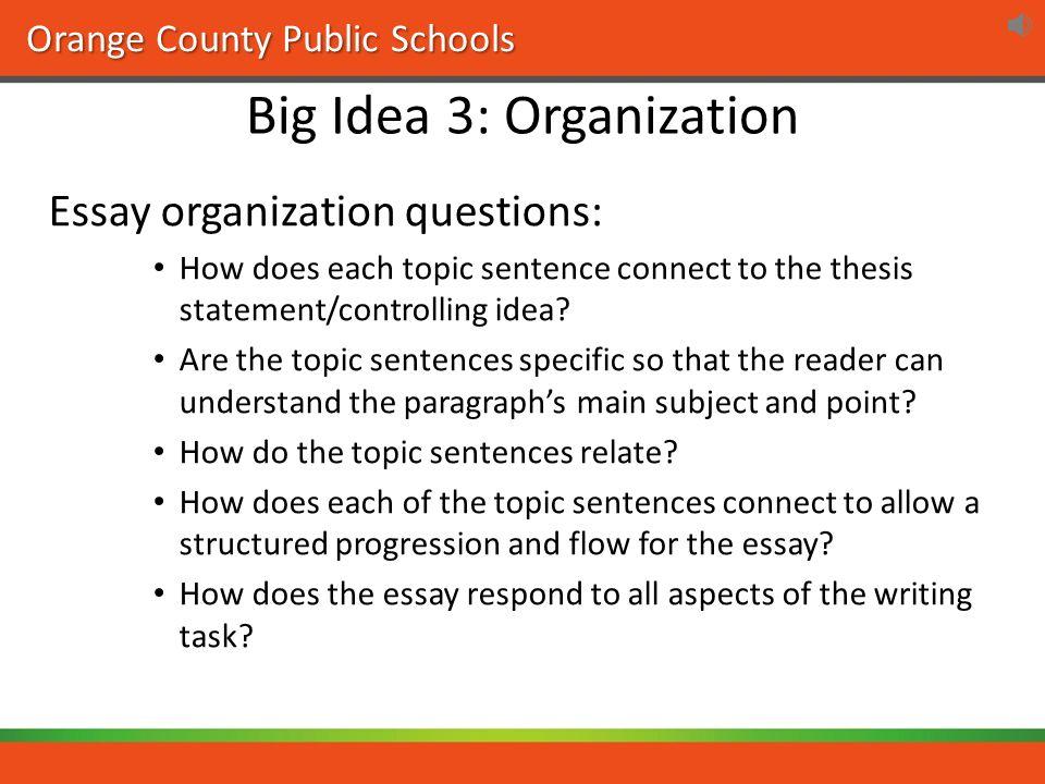 essay questions for language arts