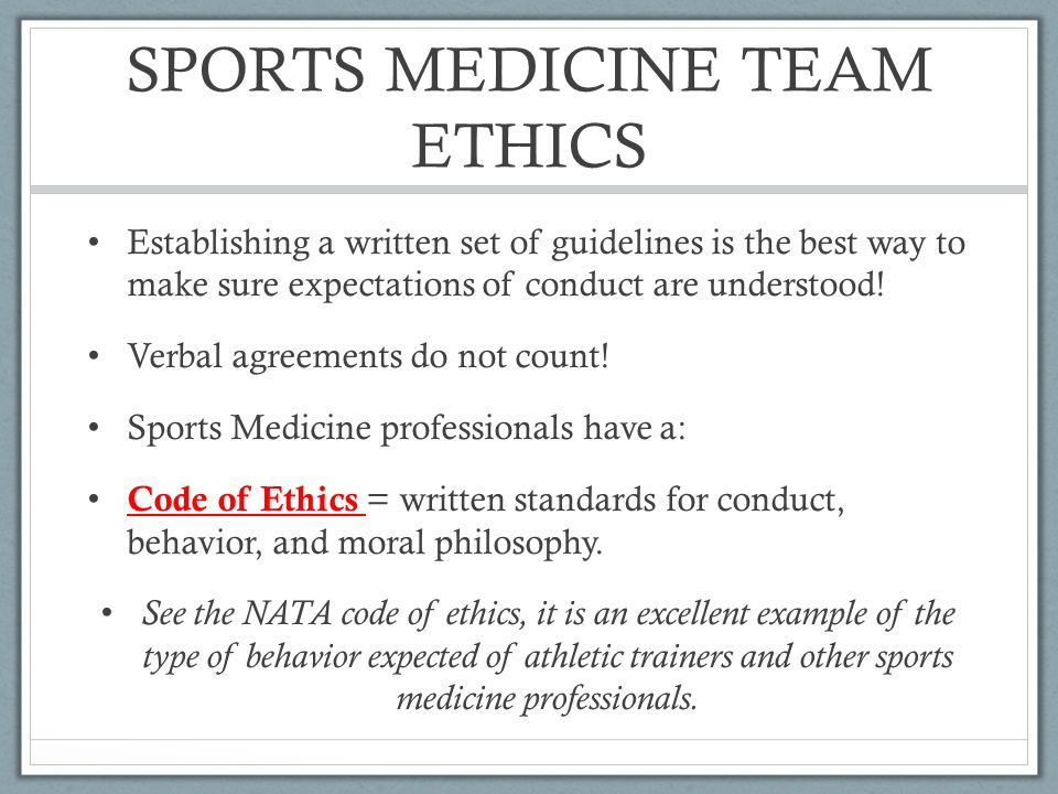 Ethical  Legal Considerations Scenario You Are A High School Atc