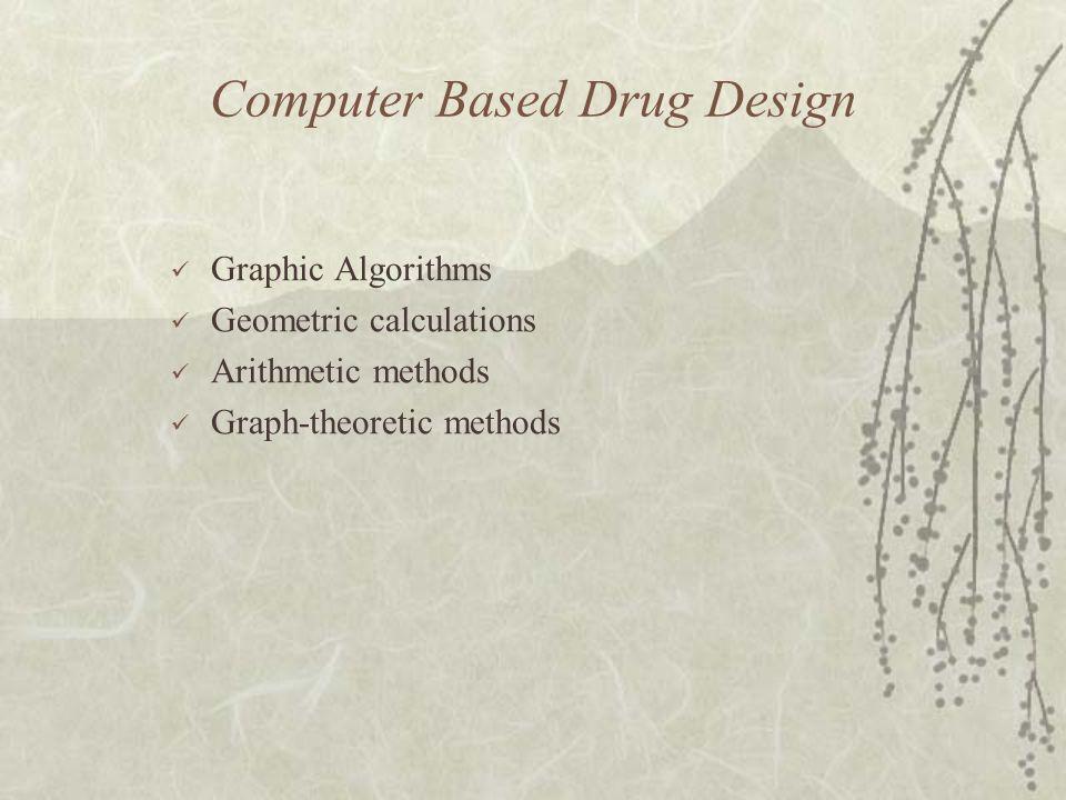 Computer Based Drug Design Graphic Algorithms Geometric calculations Arithmetic methods Graph-theoretic methods