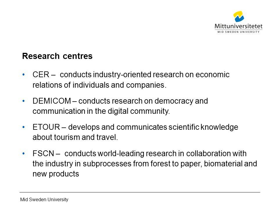Mid Sweden University Develops And Fulfills Opportunities Ppt - Mid sweden university map