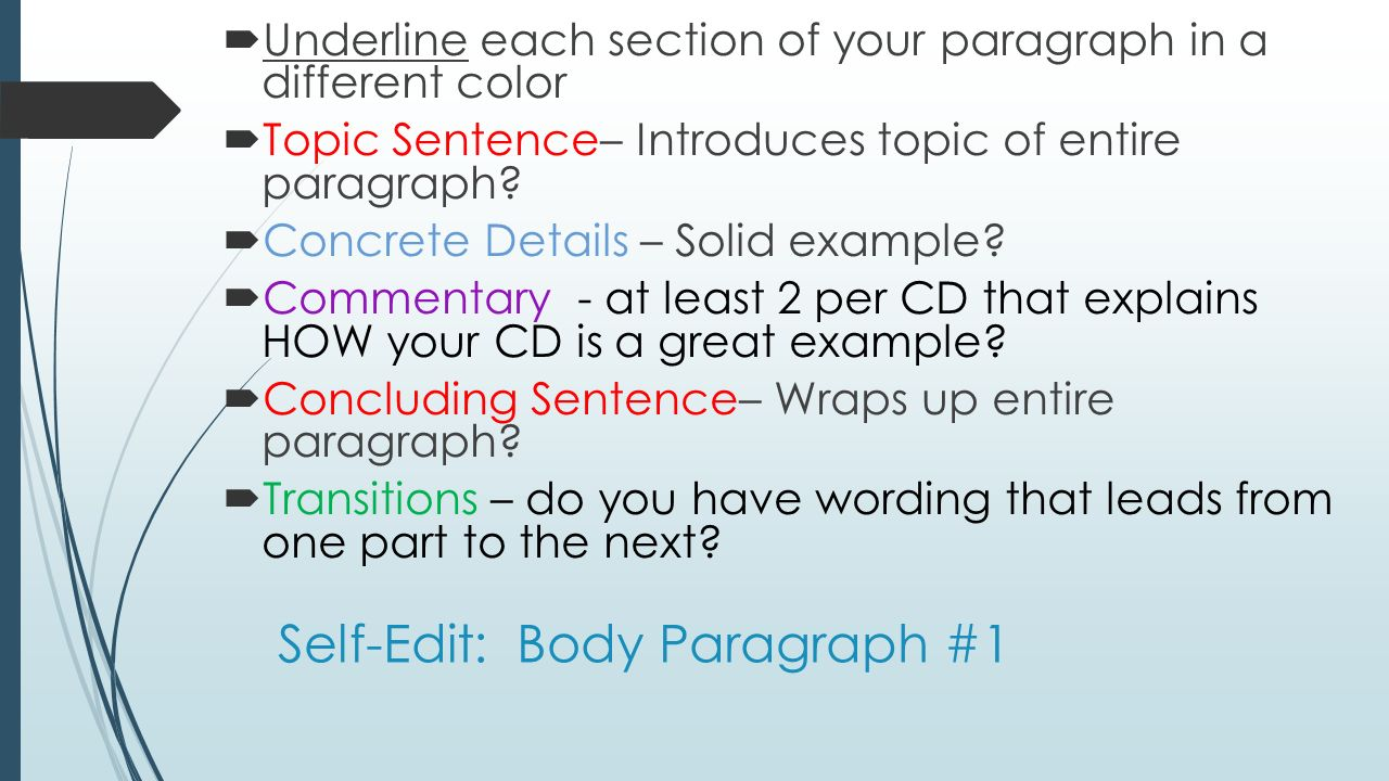 how to write a good paragraph How to write a paragraph the practice of writing paragraphs is essential to good writing paragraphs help to break up large chunks of text and makes the content easier for readers to digest.