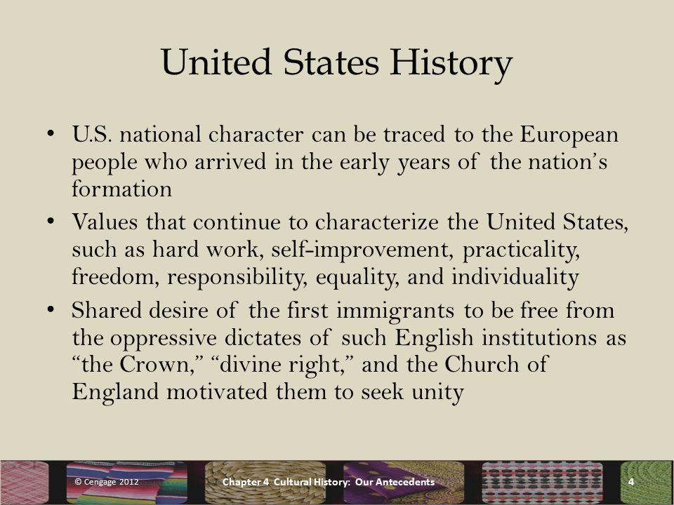 United States History U.S.