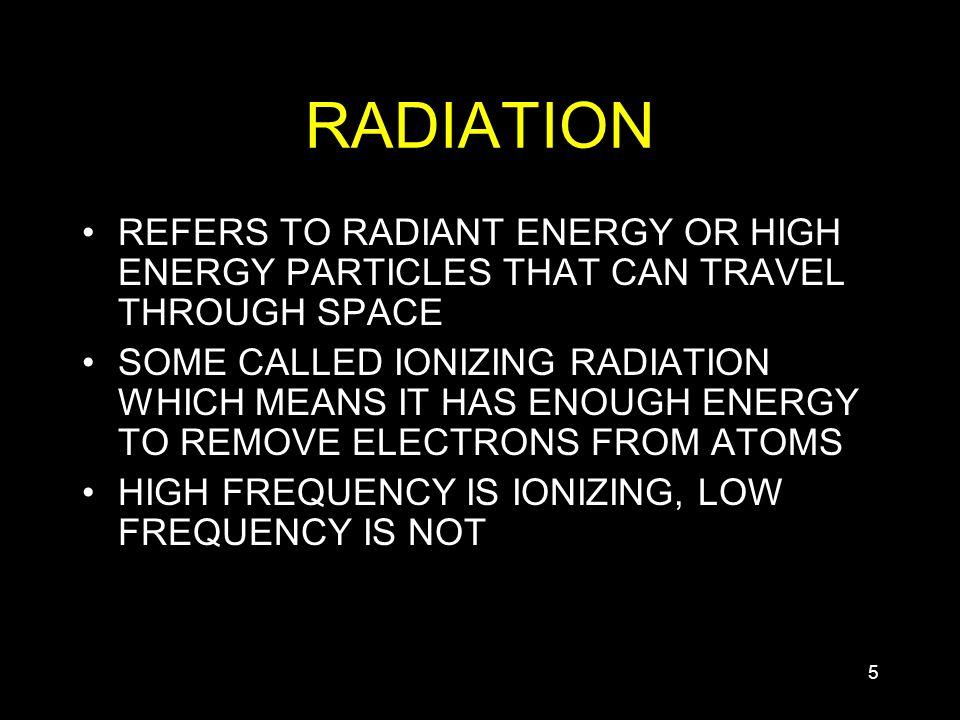 11 ELECTROMAGNETIC RADIATION. 22 EM RADIATION II ALSO CALLED ...