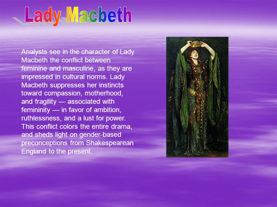 macbeth and gender roles