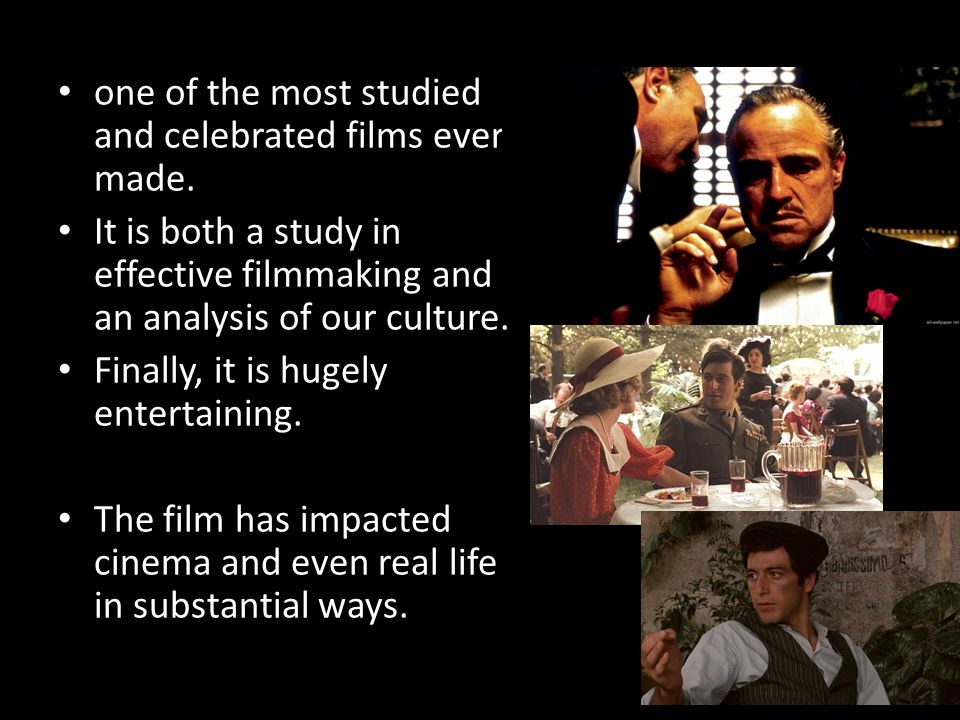Good, substantial films to study?