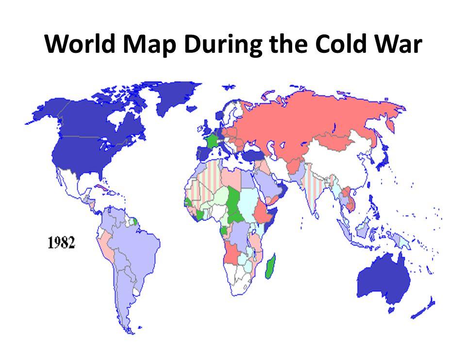 18.1: Origins of the Cold War. USA & Soviet Union Clash Former ...