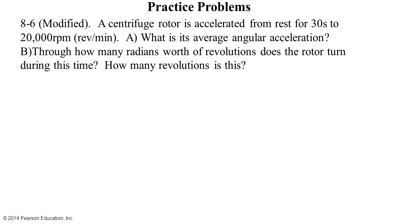 Chapter 8 rotational kinematics angular displacement velocity 16 practice biocorpaavc