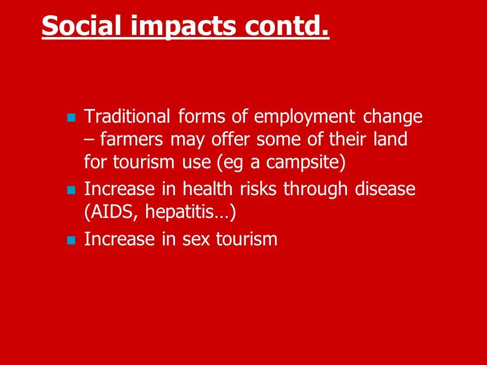 sociol cultural impacts of tourism