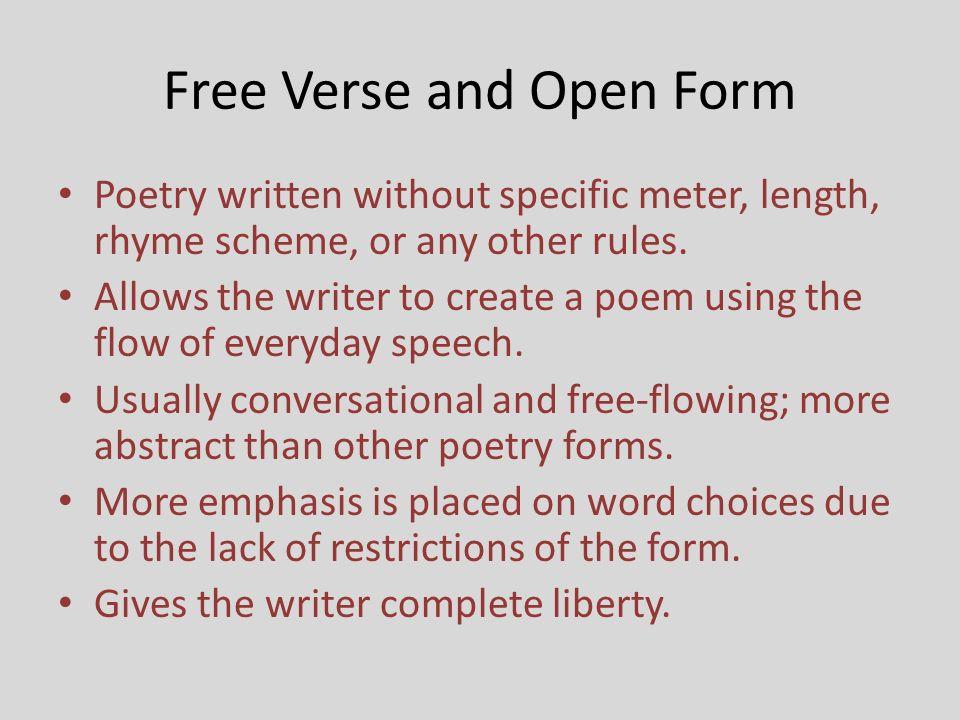 Langston Hughes and the Free Verse Poem Matt Gellman. - ppt download
