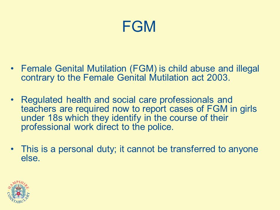 an analysis of the female genital mutilation in the history of mankind Africa rising the grassroots movement to end female change the course of history leading the global fight against female genital mutilation to save.
