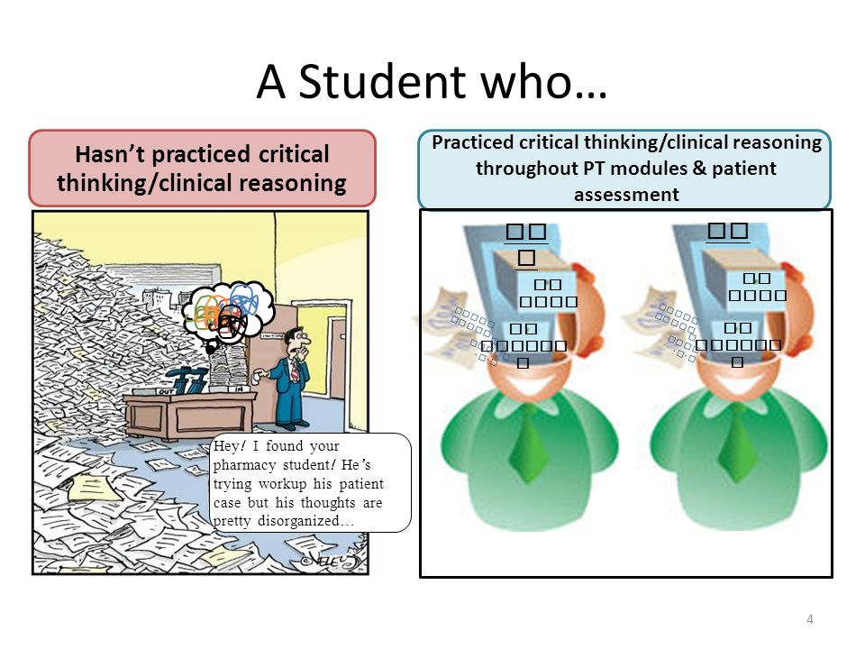 Improving critical thinking and clinical reasoning