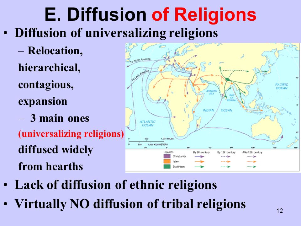 The Geography of Religion. 2 A. Introduction All societies have ...