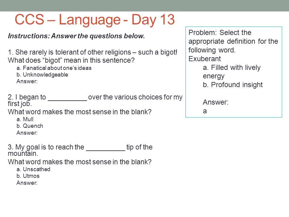14 CCS U2013 Language ...