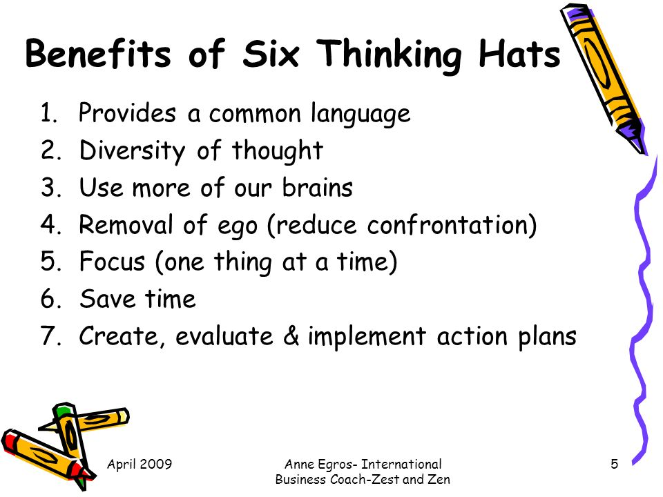 six thinking hats case study Edward de bono case studies search this website home edward de bono case studies  new de bono case study: the six thinking hats methodology is used routinely.
