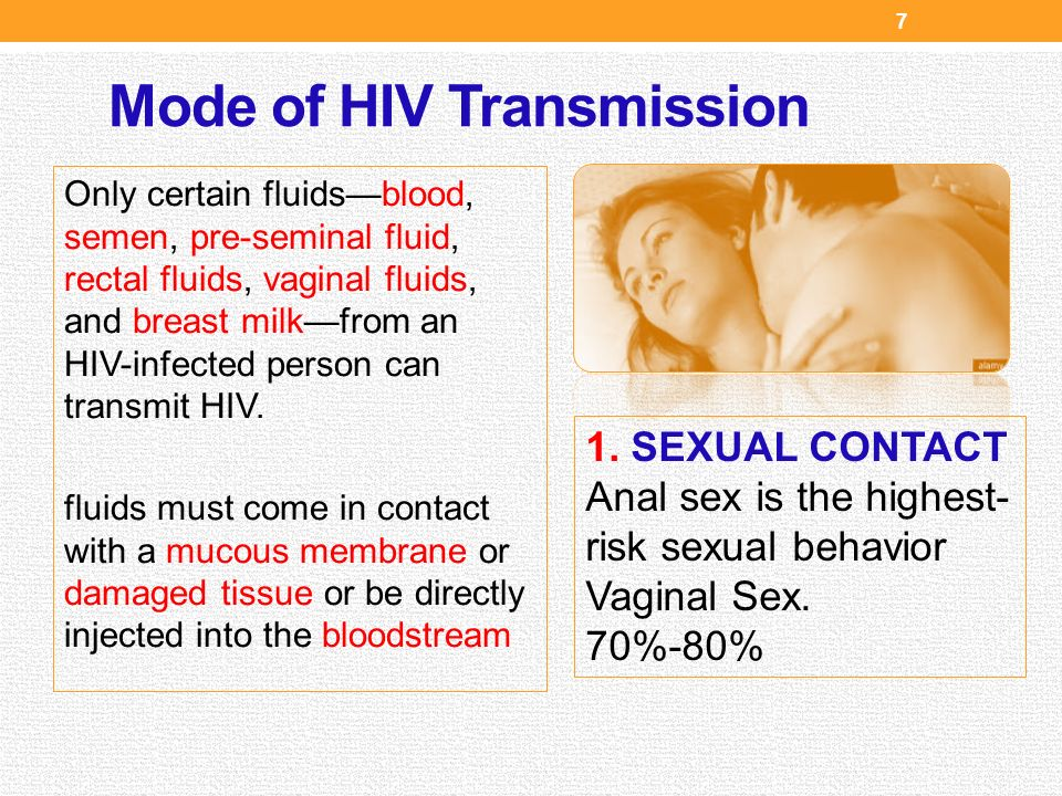HIV Transmission The Well Project
