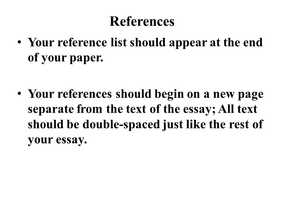 reference page on essay How to set up a resume reference page it is important to include a reference page with your resume your references are individuals who know you fairly well and who can vouch for your ability to work hard and do well at a position for which you are applying.
