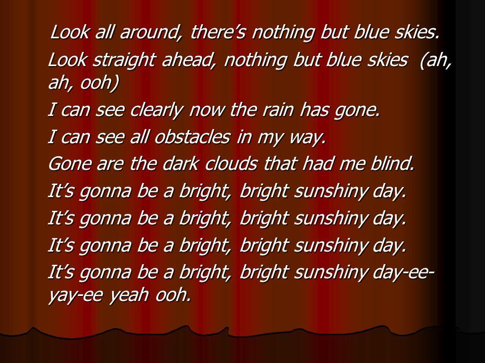 sunshiny day lyrics